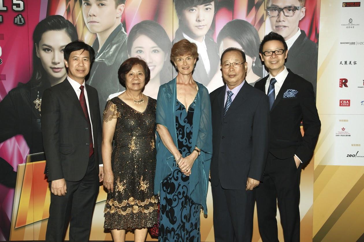 David Ko, Emily Chen, Barbara Grantham, Dr. Jason Ko, Thomas Fung
